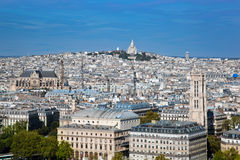 Paris, France. Sacre-Coeur Basilica Stock Photography
