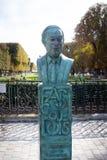 sculpture of Artemis in paris stock image