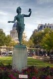 sculpture of Artemis in paris stock photos