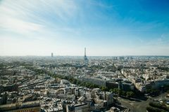Paris, France skyline Stock Photography