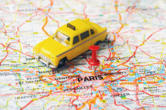 Paris ,France taxi Royalty Free Stock Photos
