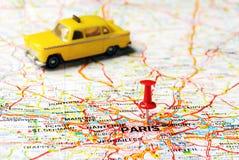 Paris France  taxi Stock Photo