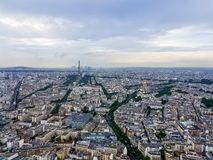 Paris, France - A view from above stock photos