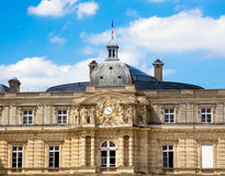 PARIS, FRANCE, View on Luxembourg Palace Stock Photography