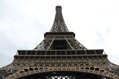 Paris, Frances et Tour Eiffel Photo libre de droits