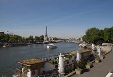 paris Francja Sen, Aleksander 3 most Fotografia Stock
