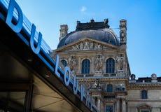 Paris/Frankreich - 3. April 2019 Das Luftschlitz-Museum - Paris stockfoto