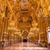 Paris, Frankreich, am 31. März 2017: Innenansicht des nationalen Des Paris Garnier, Frankreich der Oper Es wurde ab 1861 zu erric Stockfotografie