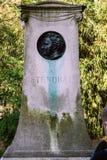 2008 04 02, Paris, Frankreich Monument zu Stendal Stockbilder