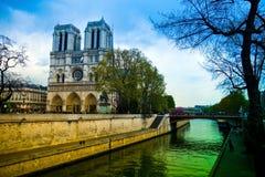 Paris, Frankreich. Notre Dame Stockfotos