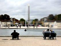 Paris Frankreich Place De La Concorde Stockfotos