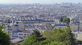 Paris Frankreich, vor kurzem der Standort von den mehrfachen Terroranschlägen Lizenzfreie Stockfotos