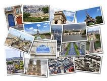 Paris Frankrike Arkivbilder