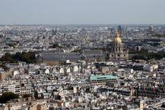 Paris Frankrike, Europa Arkivbild