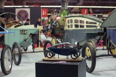 Salong RetroMobile 2013 Royaltyfri Foto