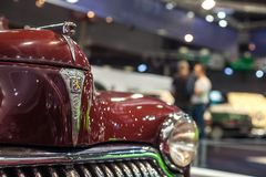 Salong RetroMobile 2013 Arkivbild