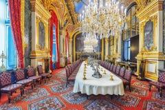 PARIS FRANKRIKE - JULI 03, 2016: Lägenheter av Napoleon III La Arkivfoton