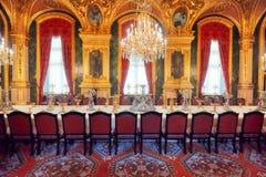 PARIS FRANKRIKE - JULI 03, 2016: Lägenheter av Napoleon III La Arkivbilder