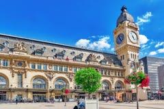 PARIS FRANKRIKE - JULI 09, 2016: Stadssikter av en av mest är Royaltyfri Bild