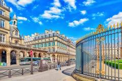 PARIS FRANKRIKE - JULI 06, 2016: Stadssikter av en av mest är Royaltyfria Bilder