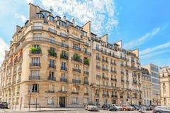 PARIS FRANKRIKE - JULI 08, 2016: Stadssikter av en av mest är Royaltyfri Fotografi