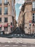 Paris Frankrike, Juni 2019: Gator av Paris arkivbilder