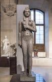 Paris Frankrike Maj 03, 2017: Isis Antoine-Guillaume Grandjacquet Louvre Arkivbilder