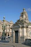 PARIS FRANKRIKE - NOVEMBER 27, 2009: Statyn på stället de la Concorde Arkivfoton