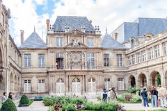 Paris Frankrike, Paris, FranceViews av byggnader, monument och berömda ställen i Paris Arkivbilder