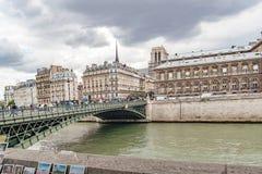 Paris Frankrike, Paris, FranceViews av byggnader, monument och berömda ställen i Paris Arkivfoto