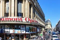 PARIS FRANKRIKE - SEPTEMBER 10, 2015: Biogaumont Arkivfoton