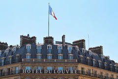 PARIS FRANKRIKE - SEPTEMBER 10, 2015: Hotell de luftventil Arkivfoto