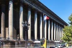 PARIS FRANKRIKE - SEPTEMBER 10, 2015: Leglise de Madeleine Royaltyfri Fotografi