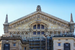 PARIS FRANKRIKE - SEPTEMBER 10, 2015: Paris opera Royaltyfria Foton