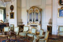 PARIS FRANKRIKE - SEPTEMBER 12, 2015: Slott av versailles Royaltyfri Bild