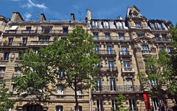 Paris - fransk arkitektur Royaltyfria Foton