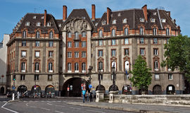 Paris - französische Architektur Lizenzfreie Stockfotos