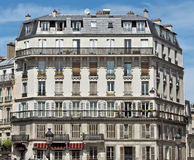 Paris - French architecture. PARIS, FRANCE - JUNE 11, 2014: View of the french architecture Royalty Free Stock Photo