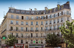 Paris - French architecture Royalty Free Stock Photography