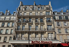 Paris - French architecture Stock Images