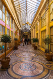 Paris, Galerie Vivienne, the most beautiful and most luxurious c royalty free stock photos