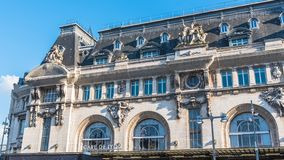 Paris, gare De Lyon images libres de droits