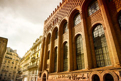paris gata Fotografering för Bildbyråer