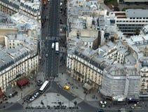 Paris gatasikt Royaltyfria Bilder