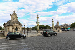 Paris gator Royaltyfri Foto