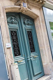 Paris gator Arkivbild