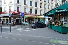 Paris gator Royaltyfria Foton