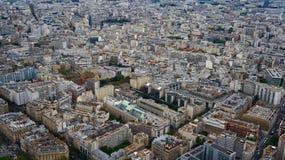 Paris gator Arkivfoton