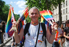 Paris Gay Pride 2009 Stock Photography