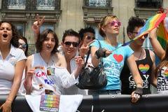Paris Gay Pride 2010 Stock Images